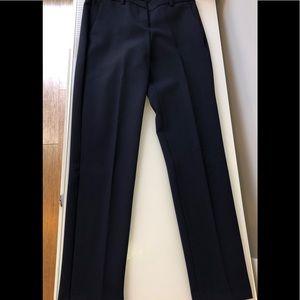 New theory wool pants navy wool size 0